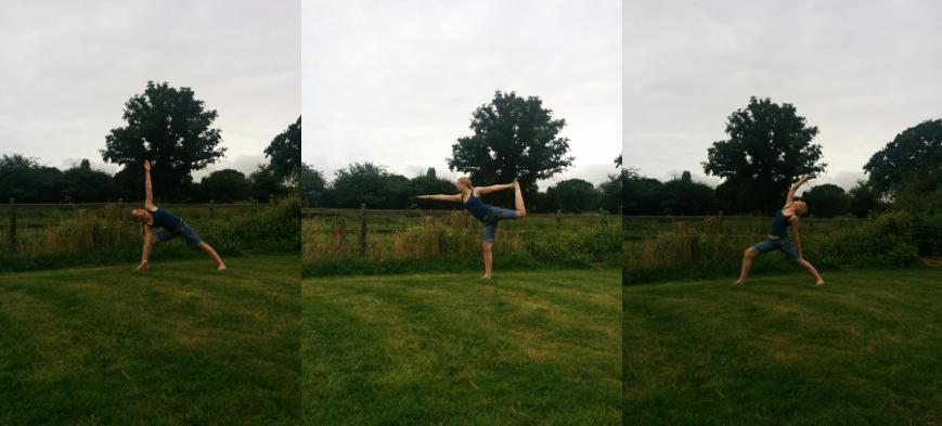 yoga-montage